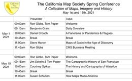 E163 - California Map Society 2021 Spring Conference - Overview